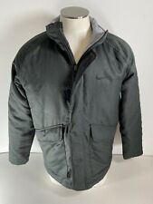 Nike Storm-Fit Full Zip Insulated Jacket Coat Green Winter Snow 614802-010 MD
