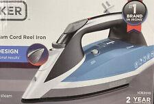 Black & Decker Vitessa Advanced Steam Iron Retractable Cord, Icr2010, Slate Blue