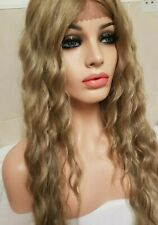 Dark Blonde Human Hair Lace Front wig, Blonde Wig, Golden Blonde Lace Front