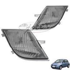 Blinkleuchte Blinker weiss rechts+links Set Satz Paar Nissan Micra K12 05-07 NEU