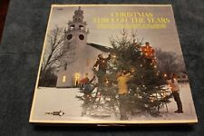 "LP Record - Various Artists - ""Christmas Through The Years"""
