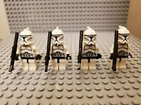 Lego Star Wars Phase 1 Clone Troopers custom lot of 4
