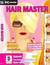HAIR MASTER PC CD-ROM 5000 modellen *make up en kapsels