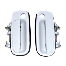 White Front Left & Right Outside Door Handle black For Toyota Camry 69210-33010