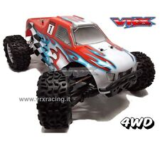 VRX SWORD MONSTER TRUCK ELETTRICO RC-550 TURBO SPEED RADIO 2.4gHz 1:10 RTR 4WD