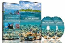 Nature and Oceans Dvd - 2 DVD Set Ocean Reef Aquarium - A Relaxing Virtual Exper