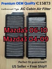 Mazda3 04 05 06 07 08 09 Mazda5 Premium Quality CARBONIZED CABIN AIR FILTER