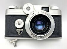 Argus C-Four C4 Camera with 2.8 50mm Coated Cintar and Case