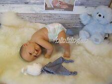 ninisingen Reallife Puppe Jarek Junge Puppenbaby Babypuppe Baby Vollvinyl 54cm
