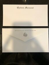 Chateau Marmont hotel notecard and envelope, west hollywood CA