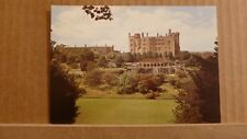 Postcard unposted Montgomeryshire, Welshpool, Powis castle