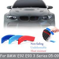 FOR BMW E92 E93 3 Series 2005-2009 M SPORT GRILL GRILLE STRIP COVER CLIP TRIM