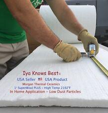 Superwool Plus 1x4x24 Ceramic Fiber Blanket Alternative Thermal Ceramics 2192f