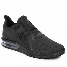NIKE AIR MAX SEQUENT 3 Men's Black/Anthracite Running Shoes 921694-010 (New)