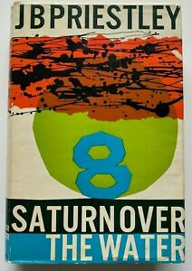 1961 1st Saturn Over The Water, J B Priestley, FREE POST AUST