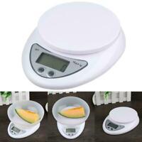 5kg/1g Digital Electronic Kitchen Food Diet Postal Balance-Display Scale-We T5C2