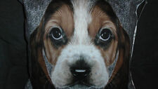 Next Beagle Dog Cushion 43 x 43cms Tartan Reverse New with Tags