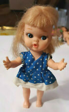 OLD VINTAGE MY TOY CO JAPAN TINY TERRY STRAWBERRY BLONDE DOLL CUTE !