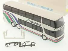 Rietze 60272 Setra S 328 Dt Twerenbold Travel Bus Bathe Ch Nip Sg 1610-31-26