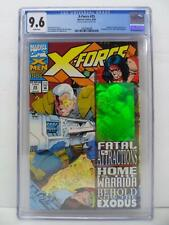 X-Force 25 - RARE Fractured Hologram Error - Noted On Label - CGC Graded 9.6