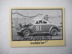 """Roscoe """"PAPPY"""" Hough signed 1990 MOR #81 2 PUPPERT STADIUM WINS WC Card #199"""