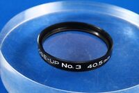 "Kenko lens filter MC CLOSE-UP No.3 40.5mm ""Exc"" From Japan"
