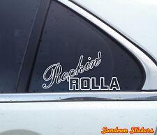 2X Rockin' Rolla corolla hachiroku JDM Jap STICKERS , Decals | ae86 | ae100