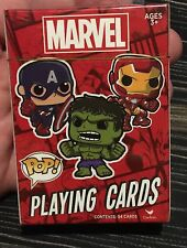 Funko Pop Marvel Iron Man, Spiderman, Captain America, Hulk, Poker Playing Cards