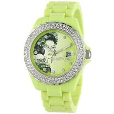 ED HARDY BY CHRISTIAN AUDIGIER  Women RX-LG Roxxy Light Green Watch