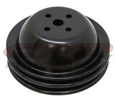 Water Pump Pulley Black steel Double Groove big block Short chevy 396  427 454