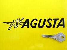 Mv Agusta texto Corte De Vinilo De 175 Mm Par Motocicleta pegatinas Clásico Moto hace F1 F4