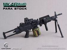 1:6 Crazy Dummy - MK46MOD0 - Para Stock (Black)
