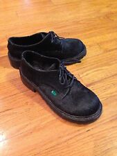 Kickers Furry Lace Up's, Size 7