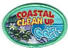 Girl Boy Cub Beach COASTAL CLEAN UP Pick Tide Patches Crests Badges SCOUT GUIDE