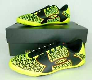 Under Armour Youth UA CF Force TR JR Yellow Soccer Shoes Size Youth 4.5