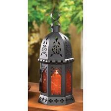 Lampe Bougie marocaine Ambre 33145