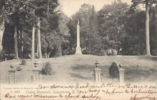 Vintage 1905 Cooperstown, New York Cooper Monument Printed Postcard Undivided