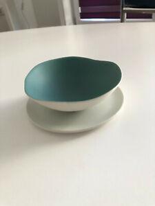 Keramik Teeschale von Jars France, neu ohne Etikett