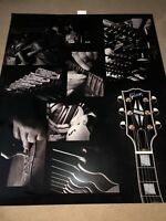 Gibson Guitar Translight Poster ...one of a kind Art Poster--Make me a offer !!!