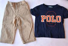 dbbfa6d4a9773 Hochwertiges Original Baby Ralph Lauren Set Hose und Shirt Größe 18M 80 86