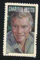 US Scott #4892, Single 2014 Charlton Heston VF MNH