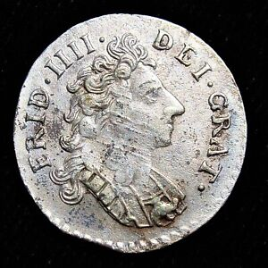 Norway: Frederick IV 8 Skilling 1706-(f). High Grade