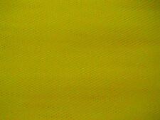 Veiling giallo morbido tulle WEDDING / BRIDAL DRESS Fabric 280cm Wide venduti per M