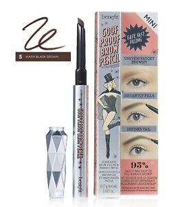 Benefit Goof Proof Eyebrow Pencil Mini ~ Shade 5 Warm Black Brown ~ 0.17g