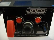 JOES RACING SWITCH PANEL IGNITION,START, 1 ACCESSORY WTH INDICATOR LIGHT 46105