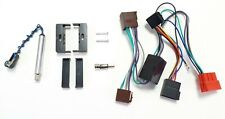 Radioblende SET für AUDI TT 8N DIN ISO Rahmen Adapter Aktivsystem Adapter Kabel