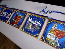 NEW Modelo Michelada Tour De Sabor Cerveza String Banner Negra Bar French Pub B3