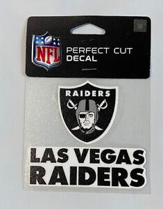 "Las Vegas Raiders 4 x 4"" Team Wordmark/Logo Truck Car Auto Window Die Cut Decal"