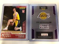 2018-19 Panini Instant NBA First Look Svi Mykhailiuk L.A. Lakers RC SP # /126