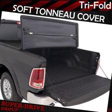 Lock Tri-Fold Tonneau Covers For 2005-2011 Dodge Dakota 6.5' FT Truck Bed Cover
